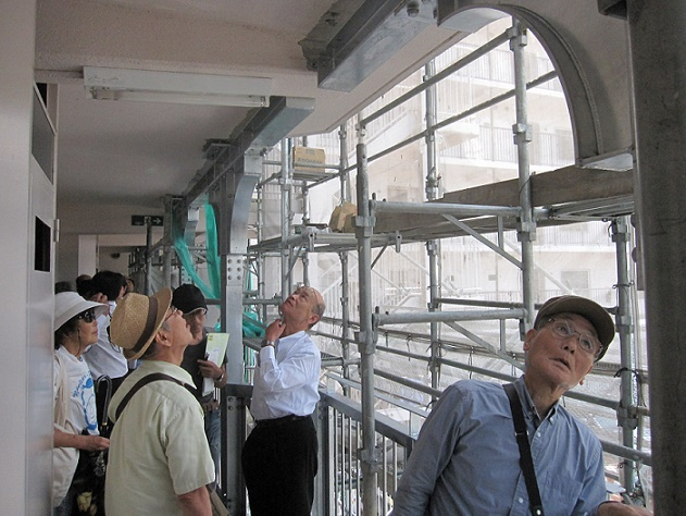 2016.07.31 管対協 耐震改修工事見学会 於・シャルム大津(3)